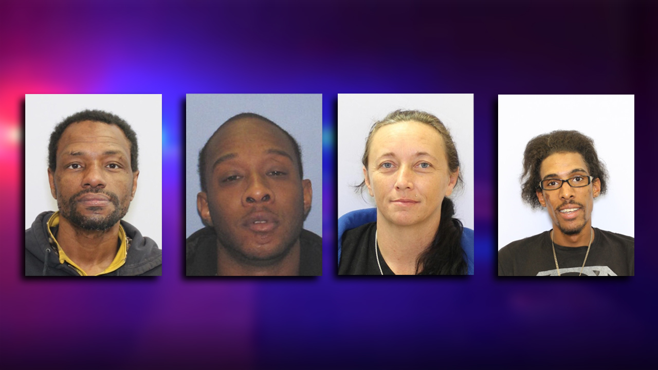 MUGSHOTS: U S  Marshals' top 4 most-wanted fugitives in central Ohio