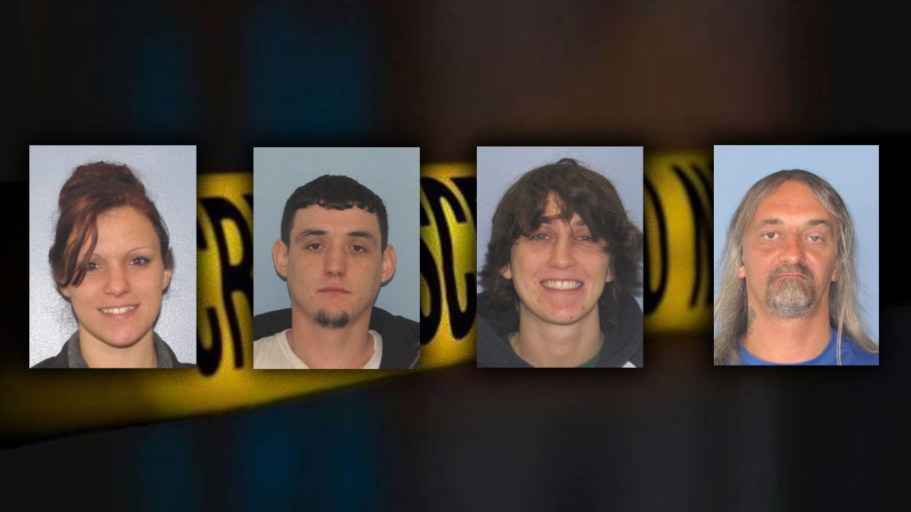 MUGSHOTS: U S  Marshals' top 4 most-wanted fugitives in