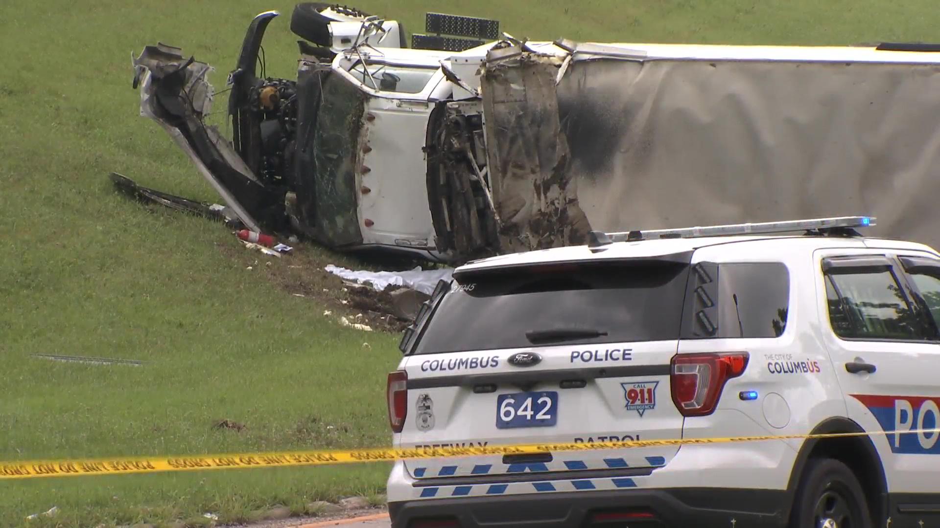 Columbus Police ID man killed in Friday ice truck crash