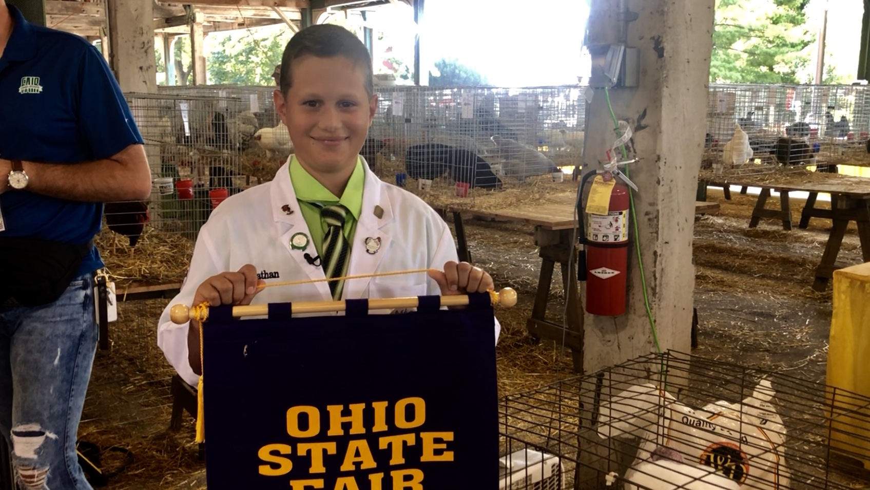 Winning livestock exhibitors excited for Ohio State Fair's