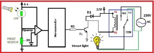 Automatic street light control by pic microcontroller  NBCAFE