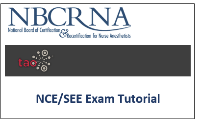 nce see exam tutorial