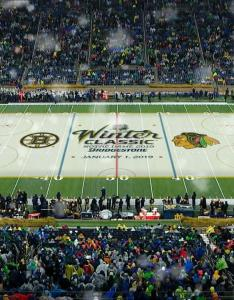 Bruins blackhawks to clash at notre dame stadium for winter classic nbc sports also rh nbcsports