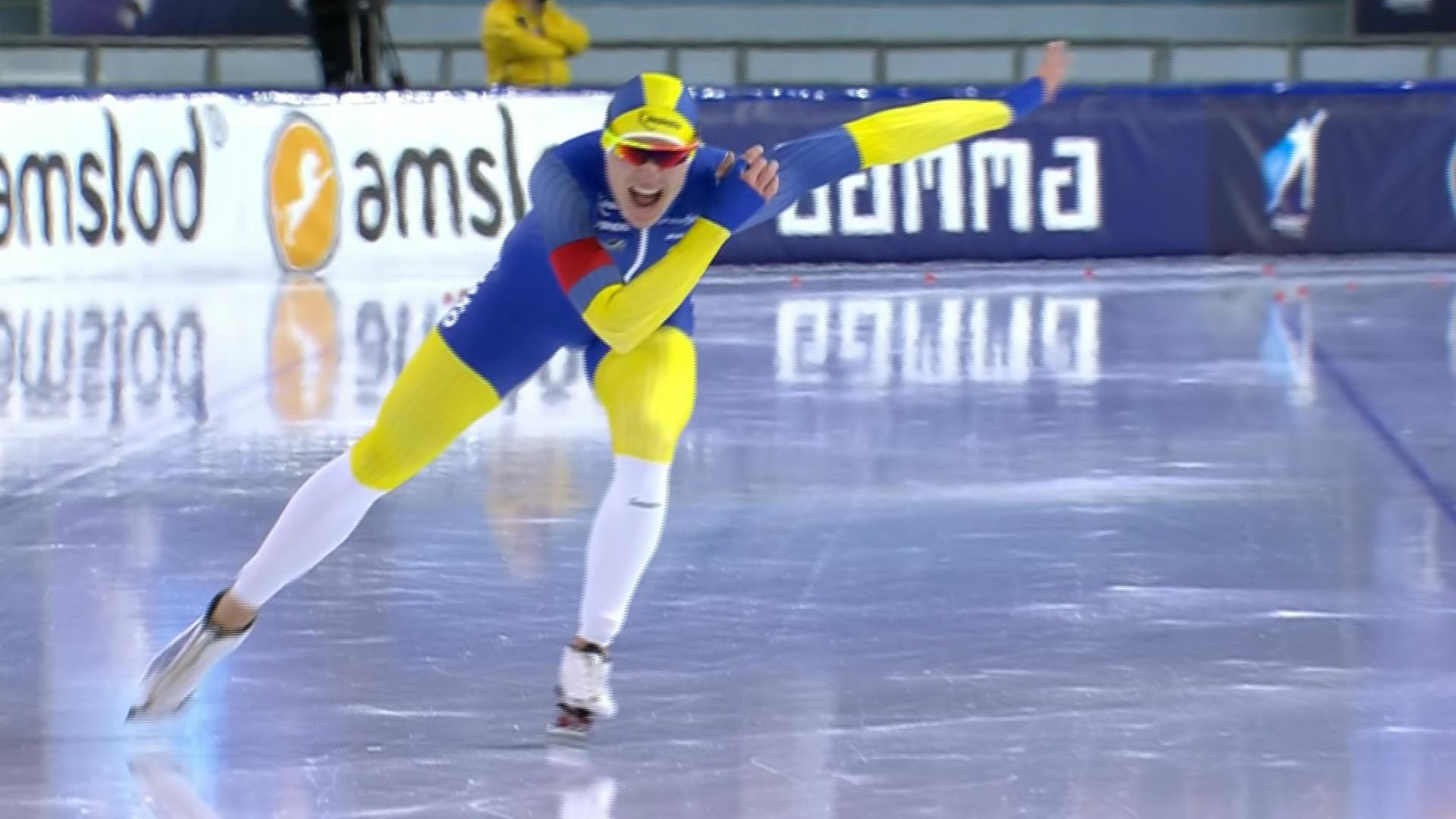 surprise speed skating world record by