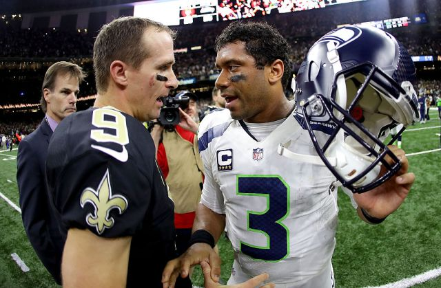 Seahawks QB Russell Wilson 'going to miss' watching Saints legend Drew  Brees in NFL   RSN