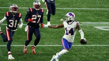 Patriots vs. Bills highlights: Stefon Diggs scores 3 TDs in a blowout | RSN