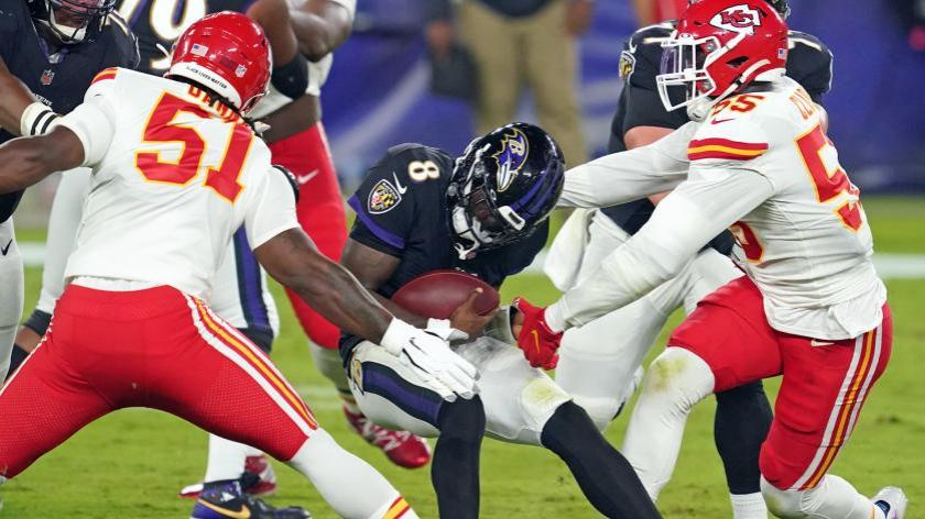 One stat shows it wasn't just Lamar Jackson who struggled against the  Chiefs | RSN