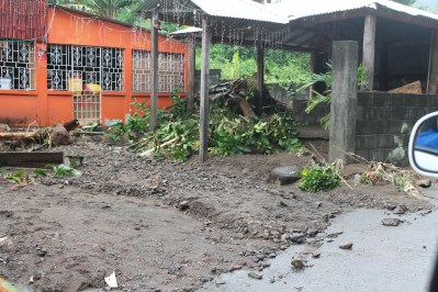 Damage cause by flash Flood in the Vermont Community on 24th and 25th December 2013.
