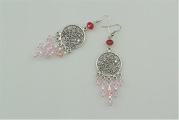 How to make chandelier earrings with chandelier component