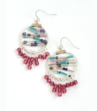 How to Make Earrings with Beads and Wire - Pretty Nice ...