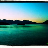 Sunshine Coast ferry sunrise