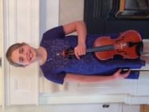 Lauren Dysart Violin - Level IV Received marks of 90 & 93