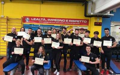 Nuovi allenatori/personal trainer di 1° livello NBFI – 2020