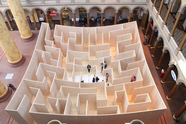Big Maze National Building Museum Summer 2014