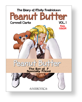 The Complete Peanut Butter, set of vols. 1-7