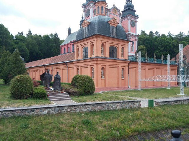 Kirche in Święta Lipka