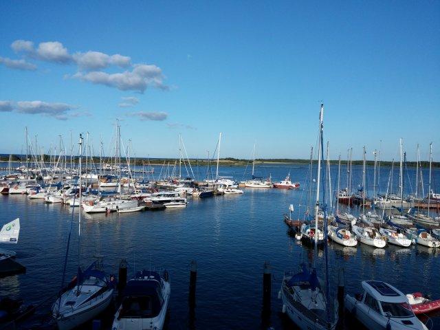 Yachthafen in der Danziger Bucht