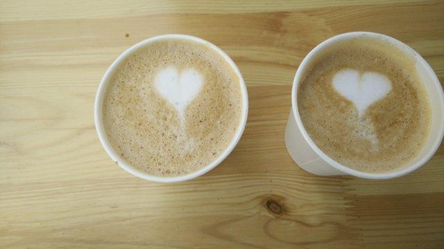 Kaffee mit gewissem Detail zubereitet