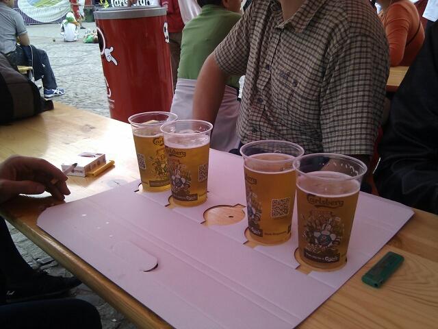 4er Pack Bier geht immer