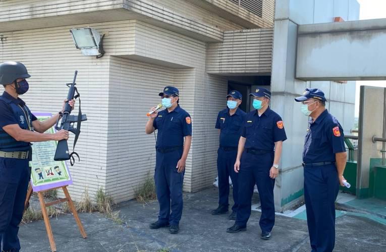 學甲警分局軍民聯合防空(萬安44號)演習