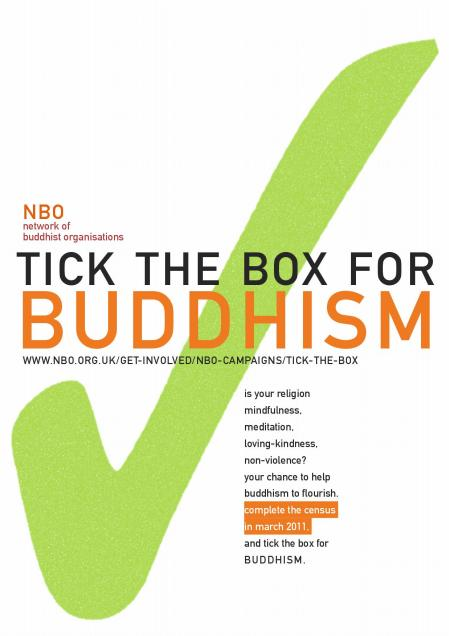 Tick the Box for Buddhism