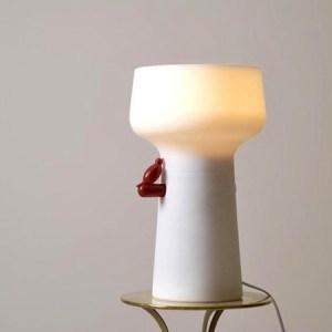 Lamp met een vibrator