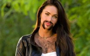 Bekende vrouwen met een baard