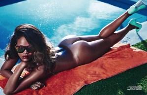 Rihanna geweerd van Instagram door deze naaktfoto's?