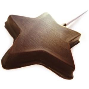 chocolate-star