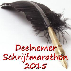 Door naar ronde negen van de EWA Nederland schrijfmarathon (woohoo)