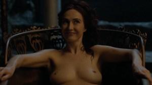 Carice van Houten heeft geen probleem met naaktheid in Game of Thrones
