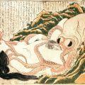 Beroemde tentakel-porno kunstwerk laat zien dat de inktvis er niks aan vindt