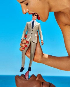 Suitsupply Toy Boy campagne voor liefhebbers van Giantess Fetish?