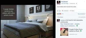 AirBNB'er maakt seksvideo's van huurders (en deelt deze met anderen)