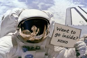 Seks in de ruimte – meer dan een fantasie