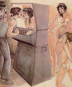 Online strips voor volwassenen: Horacio Altuna