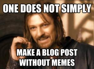 Waarom meedoen aan Meme's belangrijk is voor seksbloggers