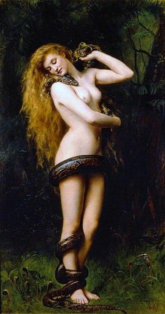 Lilith - te sexy voor de bijbel maar een hedendaagse inspiratie voor velen