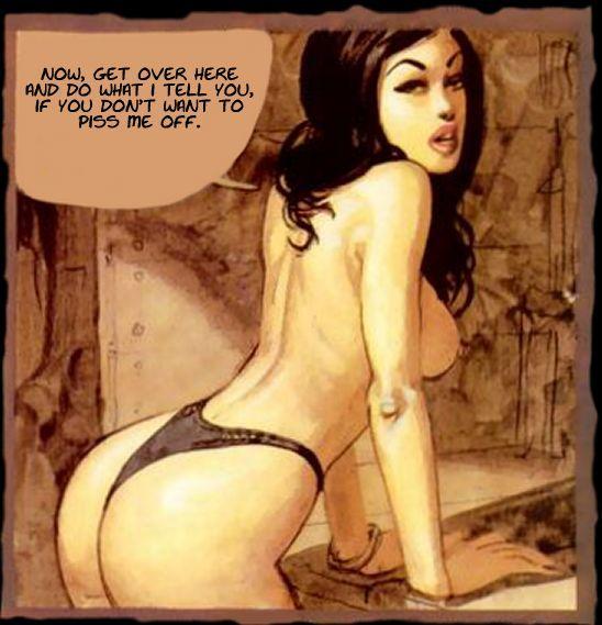 Online strips voor volwassenen: Ignacio Noé