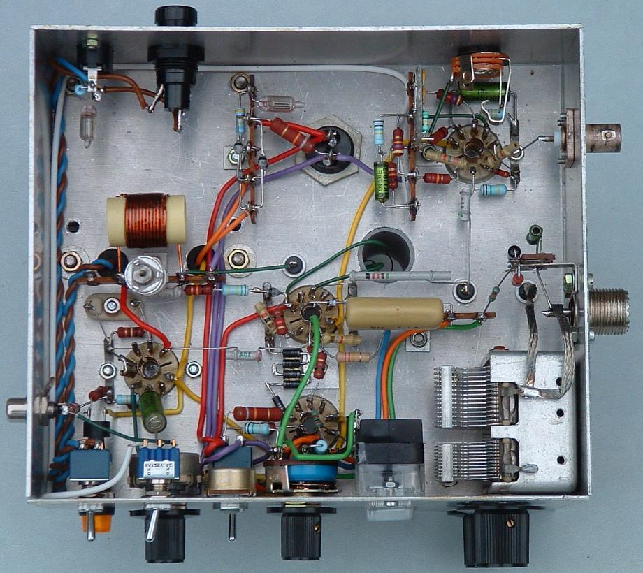 Three Photographs And Circuit Diagram Of Klaas Robers39 10 Watt 29 Mhz