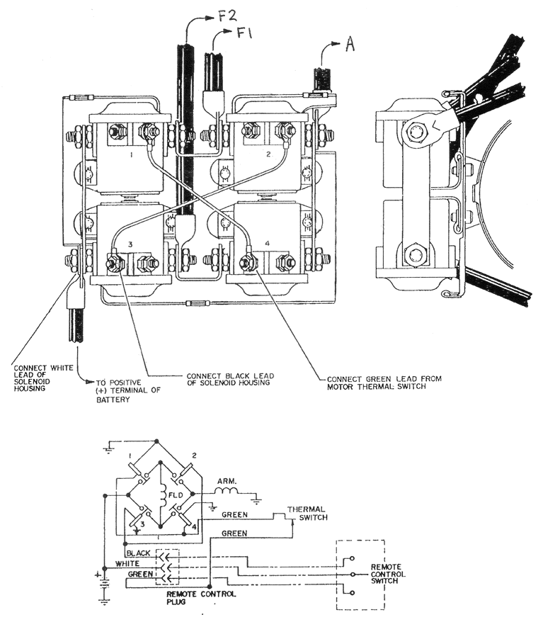 warn x8000i winch parts diagram