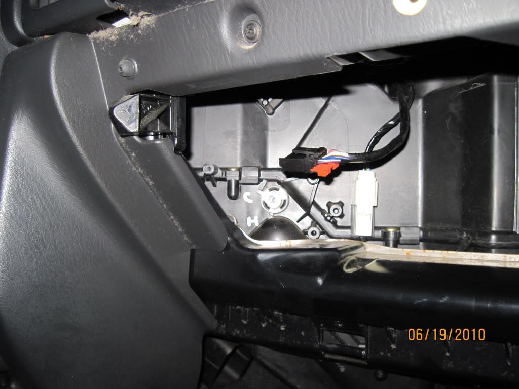 2000 Dodge Stratus Diagram Of The Temperature Control Deck