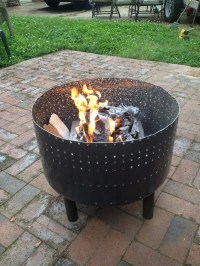 Recycling.. using wash machine for fire pit | NC4x4