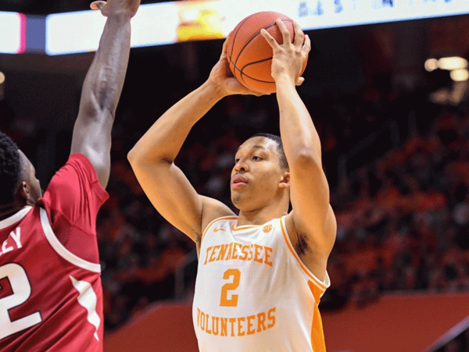 College Basketball Rankings Tennessee Takes Over No 1