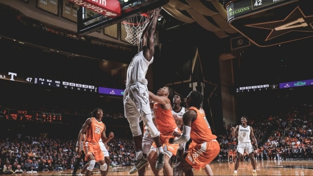 Tennessee S Grant Williams Scores 43 Points As The No 1