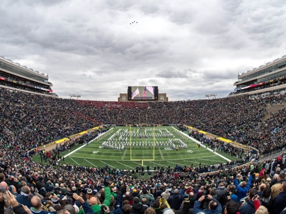 Nhl winter classic set for notre dame stadium share also ncaa rh