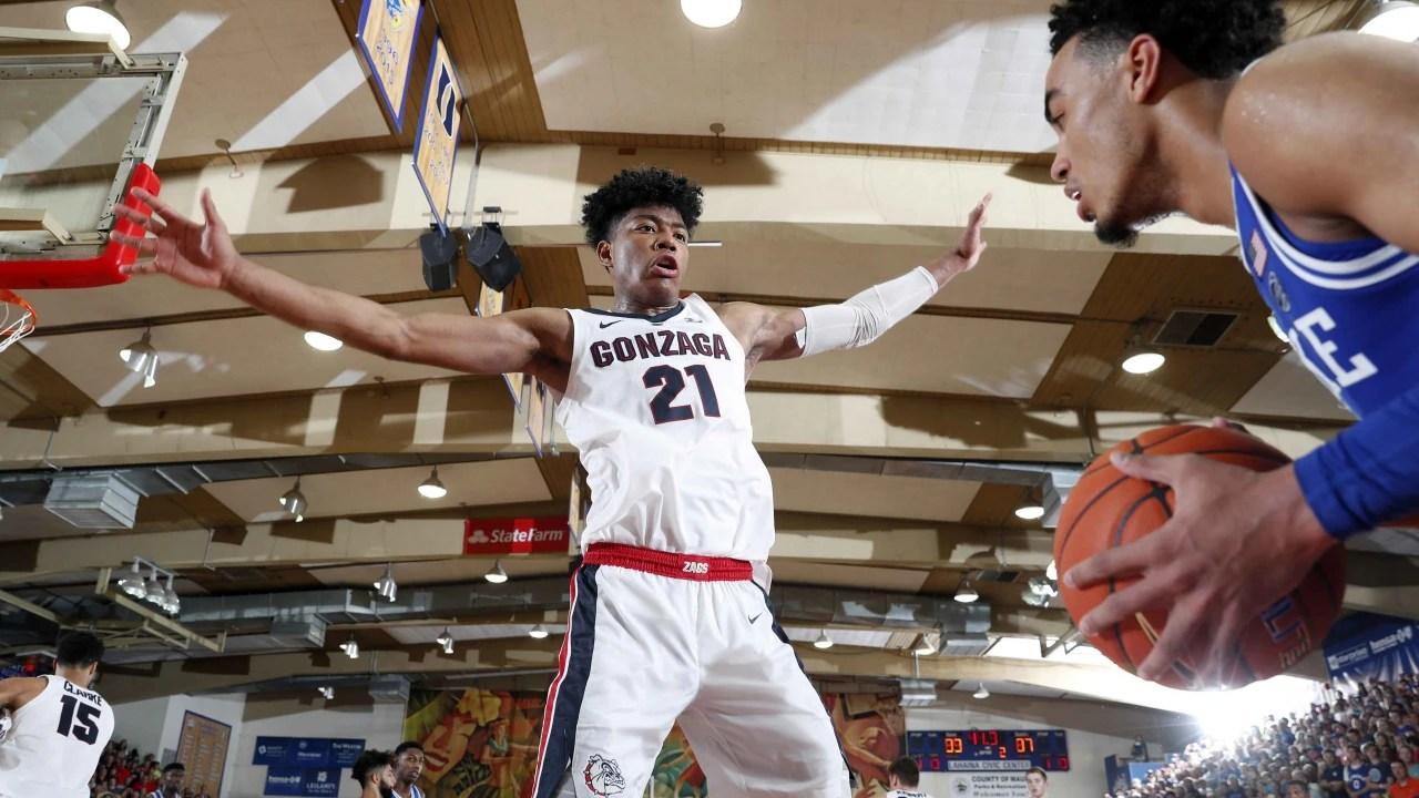 Gonzaga Leapfrogs Kansas Duke To Take No 1 Spot In Ap