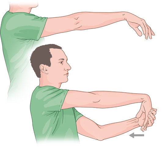 Treatment of Elbow Joints Upper Part Pain