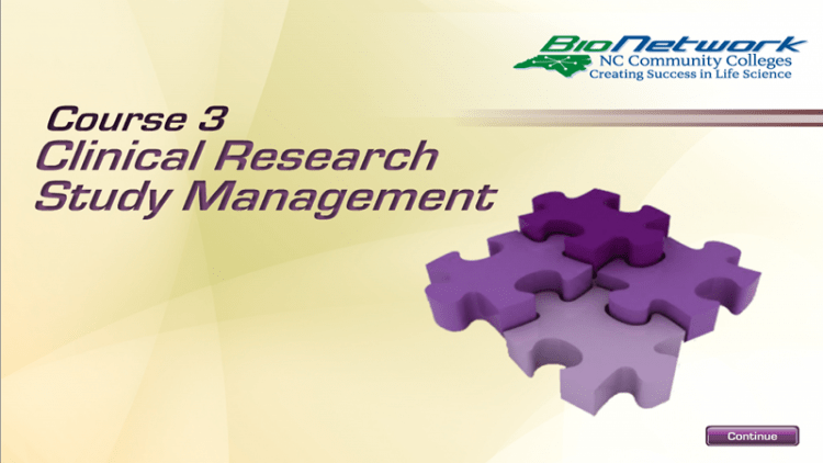 Clinical Research Study Management  NCBioNetworkorg