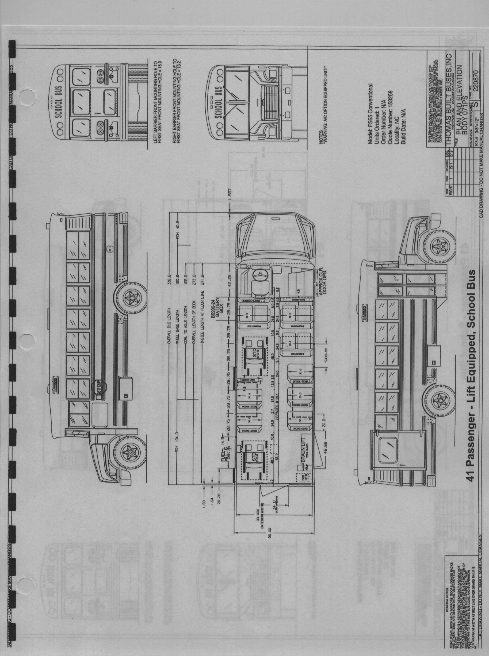 thomas school bus wiring diagrams